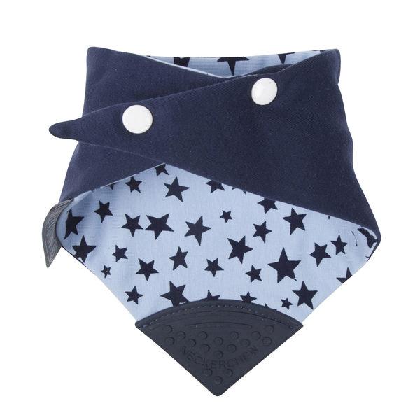 【英國 Cheeky Chompers】全世界第一個咬咬兜/ 圍兜 / 口水巾-閃耀星星