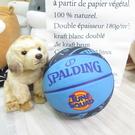 SPALDING SP 怪物奇兵 七號籃球 橡膠籃球 SPA84598 藍色【iSport愛運動】