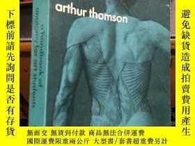 二手書博民逛書店英文原版罕見A Handbook Of Anatomy For