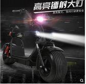 新款普哈雷電瓶車兩輪寬胎電動車成人代步自行車滑板車電池可拆卸igo  韓風物語