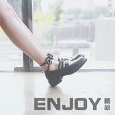 春季日系原宿洛麗塔lolita軟妹公主鞋cos女鞋厚底系帶鬆糕娃娃鞋