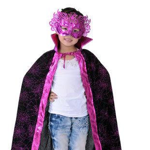 大人兒童裝扮金粉披風