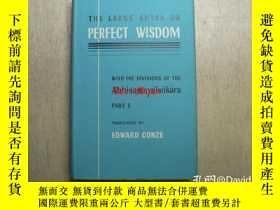 二手書博民逛書店The罕見large sutra on perfect wisdom, with the divisions of