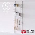 廚衛收納【JEJ083】日本 平安伸銅 SPLUCE免工具廚房收納吊掛層架(S)組合SPL-1(超薄窄版) 完美主義