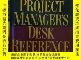 二手書博民逛書店The罕見Project Managers Desk Refer