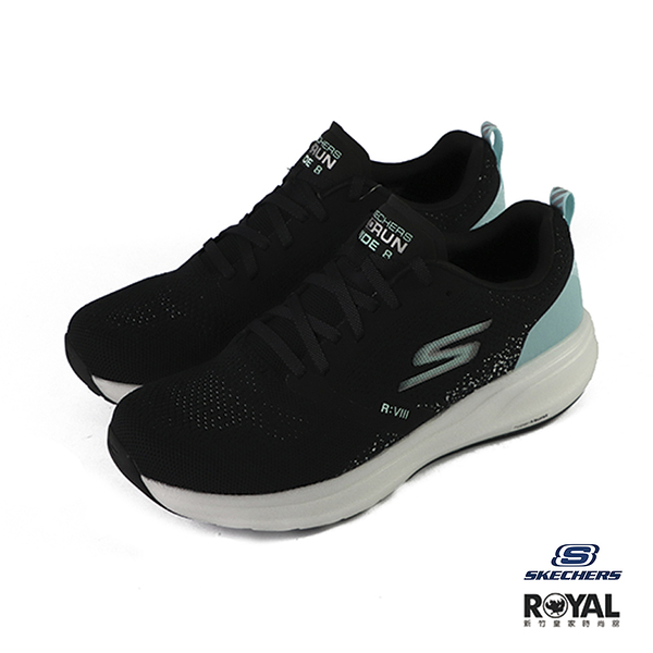 Skechers Go Run 黑色 織布 運動慢跑鞋 女款 NO.J0159【新竹皇家 15224BKTQ】