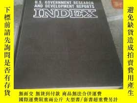 二手書博民逛書店U.S.GOVERNMENT罕見RESEARCH AND DEV