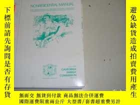 二手書博民逛書店NONRESIDENTIAL罕見MANUAL FOR COMPLIANCE WITH THE 1998 ENERG