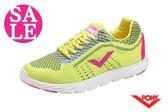 PONY START NEO系列 女款 輕量慢跑鞋 運動鞋 跑步鞋 零碼出清 J9434#螢光黃◆OSOME奧森童鞋/小朋友