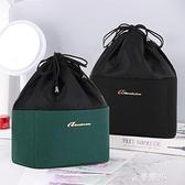網紅懶人化妝包抽繩大容量便攜護膚品收納袋洗漱包盒ins風超火 雙十二全館免運