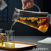 涼水壺玻璃耐高溫防爆大容量扎壺冷水壺耐熱家用晾涼白開水杯 酷斯特數位3C igo