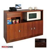 【RICHOME】活動促銷 超值優惠《畢卡索三門餐櫃-2色》櫥櫃/電器架
