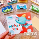 正版授權 迪士尼立體卡片 DUMBO 小飛象 小卡片 生日卡片 萬用卡片 卡片 COCOS DA030