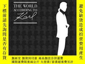 二手書博民逛書店The罕見World According To KarlY364682 Lagerfeld, Karl; Na