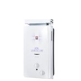 (無安裝)櫻花10公升抗風型ABS防空燒(與GH1021/GH-1021同款)熱水器桶裝瓦斯GH-1021L-X