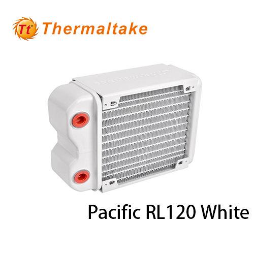 Thermaltake 曜越 Pacific RL120 Radiator 水冷排 (雪白版)