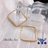 幾何耳環耳釘耳環高級大氣耳飾女個性創意時尚【古怪舍】