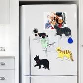 【04016】行走貓咪尾巴掛勾 冰箱貼 磁鐵 裝飾 白板 喵星人