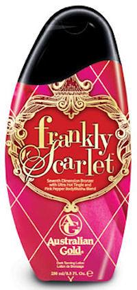 助曬油澳洲黃金Frankly Scarlet 8.5OZ