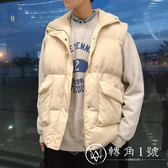 ins超火的網紅同款棉馬甲男秋冬季潮款無袖外套韓版潮流背心外穿