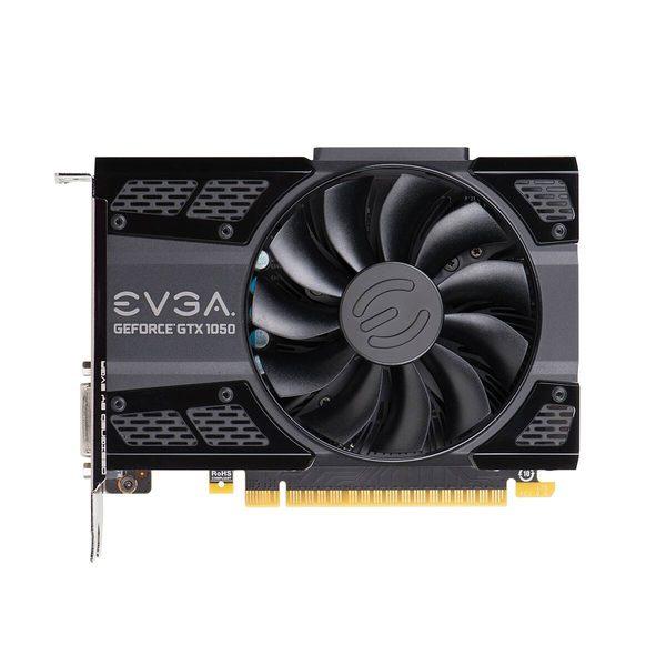 EVGA 艾維克 GTX 1050 2G GAMING 2GB GDDR5 ACX 2.0 顯示卡 02G-P4-6150-KR