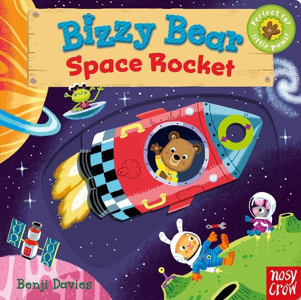 【Bizzy Bear 可愛操作書】BIZZY BEAR: SPACE ROCKET /硬頁書