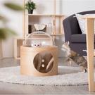 LOXIN【BK1262】Myzoo 太空計畫-BETA 橡木 貓屋 貓籠 貓咪窩 寵物用品 動物緣