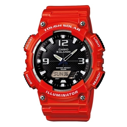 CASIO 卡西歐/太陽能運動亮眼橡膠錶/AQ-S810WC-4A