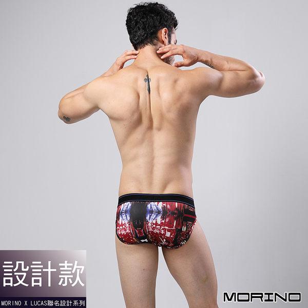 【MORINOxLUCAS設計師聯名】速乾涼爽時尚三角褲 紅色