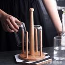 杯架實木廚房置物架陶瓷玻璃水杯架馬克杯咖啡杯架廚房收納架子 【快速出貨】