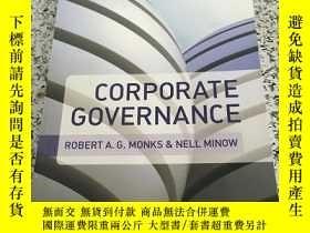 二手書博民逛書店Corporate罕見Governance[公司治理,第5版] 英文原版Y266787 Robert A. G