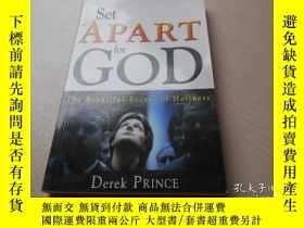 二手書博民逛書店SET罕見APART FOR GOD: THE BEAUTIFU