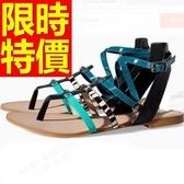 涼鞋-平底性感百搭非凡時髦女休閒鞋2色56l12【巴黎精品】