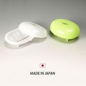 日本製 綠葉肥皂盒 雙層瀝水肥皂盒 創意肥皂盒 香皂盤 肥皂盤【SV3609】快樂生活網