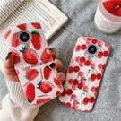 【兩個裝】粉色草莓美圖手機殼個性創意水果t8t9軟硅膠保護套【輕派工作室】