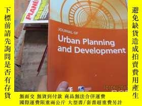 二手書博民逛書店journal罕見of urban planning and d