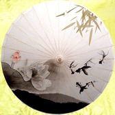 油紙傘古典中國風防雨防曬實用裝飾江南傳統工藝傘婚禮攝影舞蹈WZ3083 【雅居屋】TW