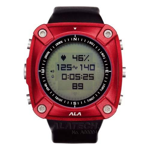 ALATECH 新版 OP100 專業 心率錶 登山錶 - 紅色