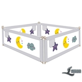 床圍欄寶寶防摔防護欄床邊護欄嬰兒床上擋板兒童防掉床護欄通用【邻家小鎮】
