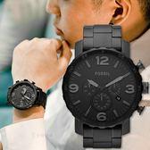 FOSSIL 沉穩紳士質感時尚腕錶 消光黑 JR1401 熱賣中!