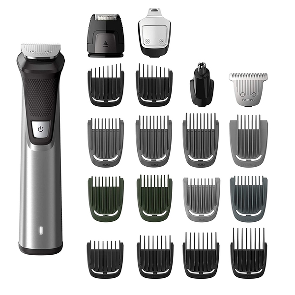 [9美國直購] Philips 刮鬍刀組 Norelco MG7750/49 Multigroom Series 7000, Men s Grooming Kit with Trimmer for Beard
