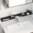 衛生間免打孔鏡前置物架廁所洗漱臺置物架墻上免打孔浴 【快速出貨】YJT