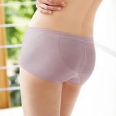 【曼黛瑪璉】2014AW低腰平口無痕褲M-XL(低調紫)(未滿3件恕無法出貨,退貨需整筆退)