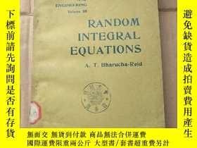 二手書博民逛書店random罕見integral equations(P854)Y173412