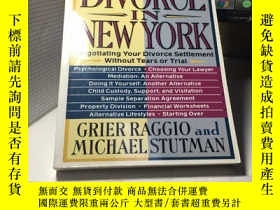 二手書博民逛書店How罕見to Divorce in New York: Neg