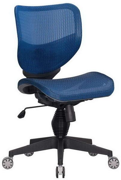HP362-09 全網椅TS-080/藍網/氣壓+後仰