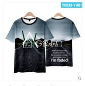 電音衣服faded電音3D短袖T恤男DJ大神潮流衣多色小屋