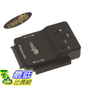 [104美國直購] 硬碟適配器 CoolGear USB 3.0 USBG-128ASD SATA IDE Hard Drive Adapter Universal 2.5 3.5 5.25 Drives
