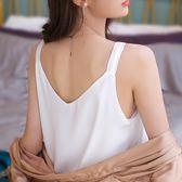 吊帶背心女2019春夏新款V領外層打底衫內搭寬松顯瘦雪紡上衣CY 韓風物語