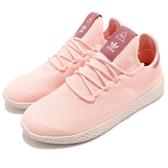 【五折特賣】adidas 休閒鞋 PW Tennis HU W Pharrell Williams 粉紅 米白 聯名款 運動鞋 女鞋【PUMP306】 AQ0988
